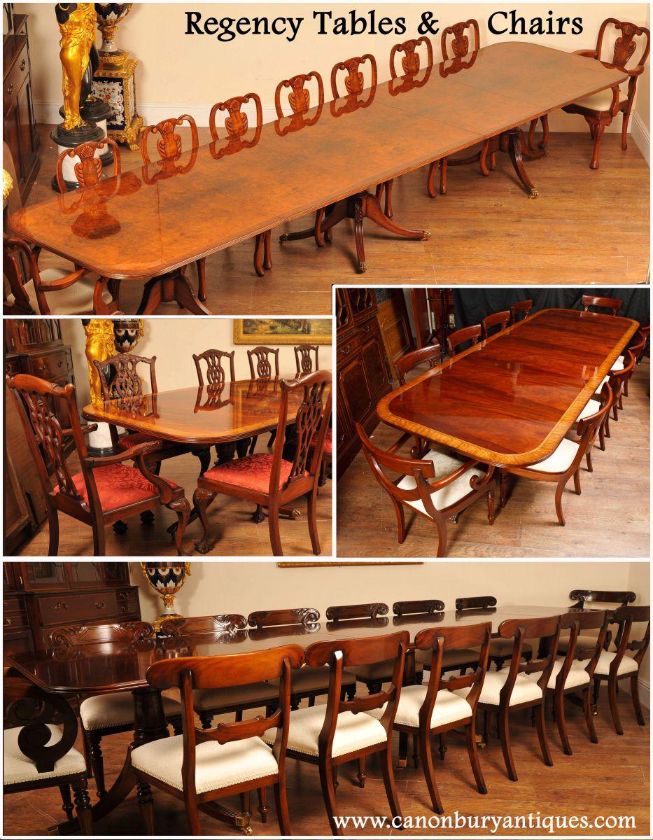 Table et chaises regency for Table salle a manger qui ne prend pas de place