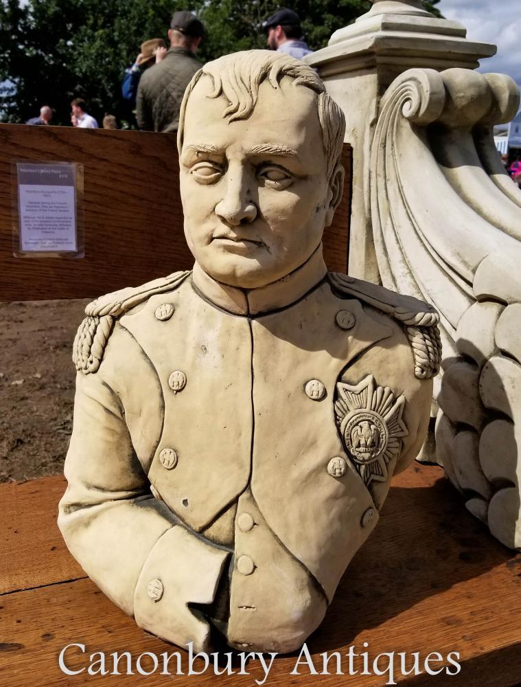 Buste en pierre Empereur Napoléon Bonaparte Français