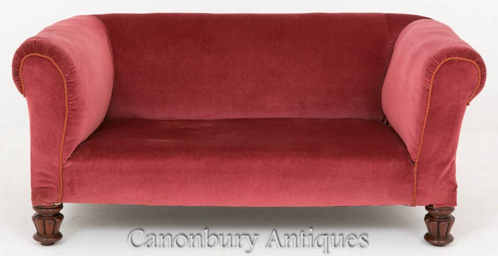 Canapé de canapé victorien