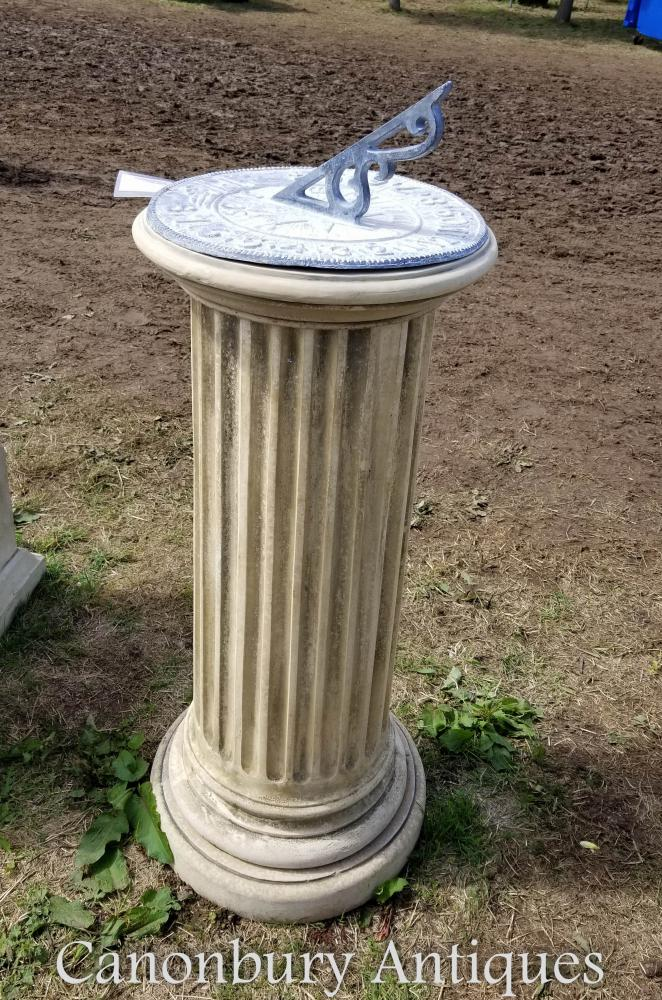 Classique Pierre Doric Sundial Garden Art Time