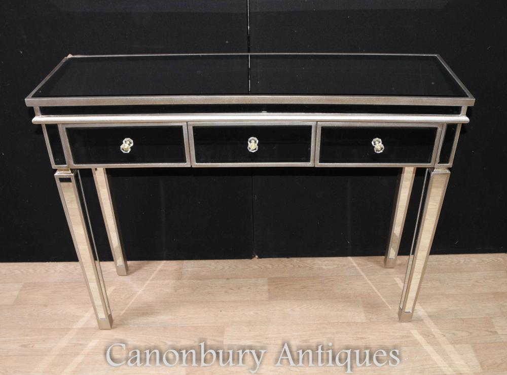 table de console en miroir archives antiquites canonbury. Black Bedroom Furniture Sets. Home Design Ideas