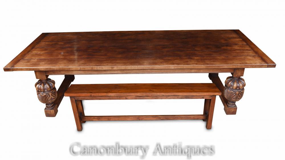 Table de salle manger archives antiquites canonbury - Table et banc salle a manger ...