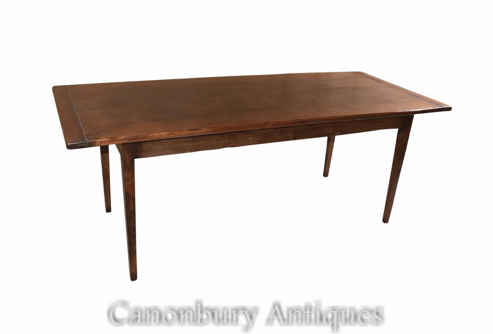 Table de réfectoire de ferme Table de réfectoire de chêne
