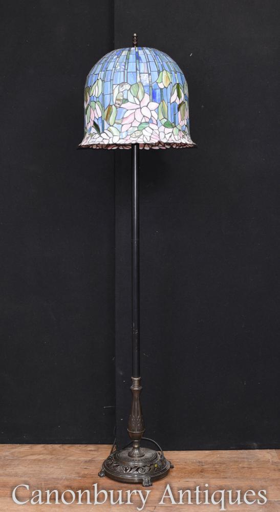 Lampadaire Art Nouveau Tiffany