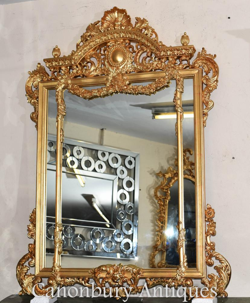 Miroirs en verre miroir George II Gilt Pier