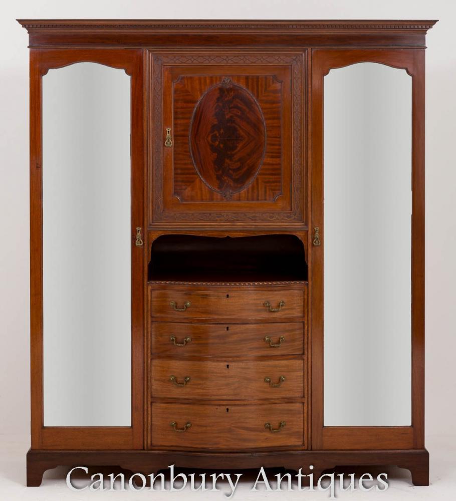 Armoire Victorium Compactum Armoire Maple et Co 1880