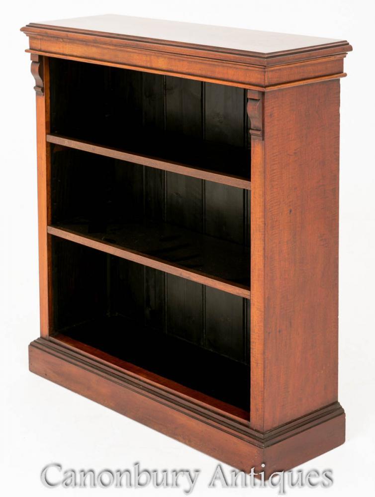 Open Bookcase - Bibliothèques victoriennes anciennes Circa 1880