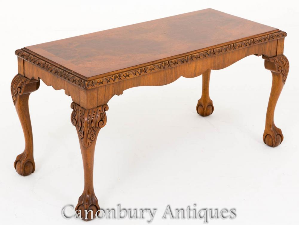 Table Basse en Noyer Table Antique Anne Anne