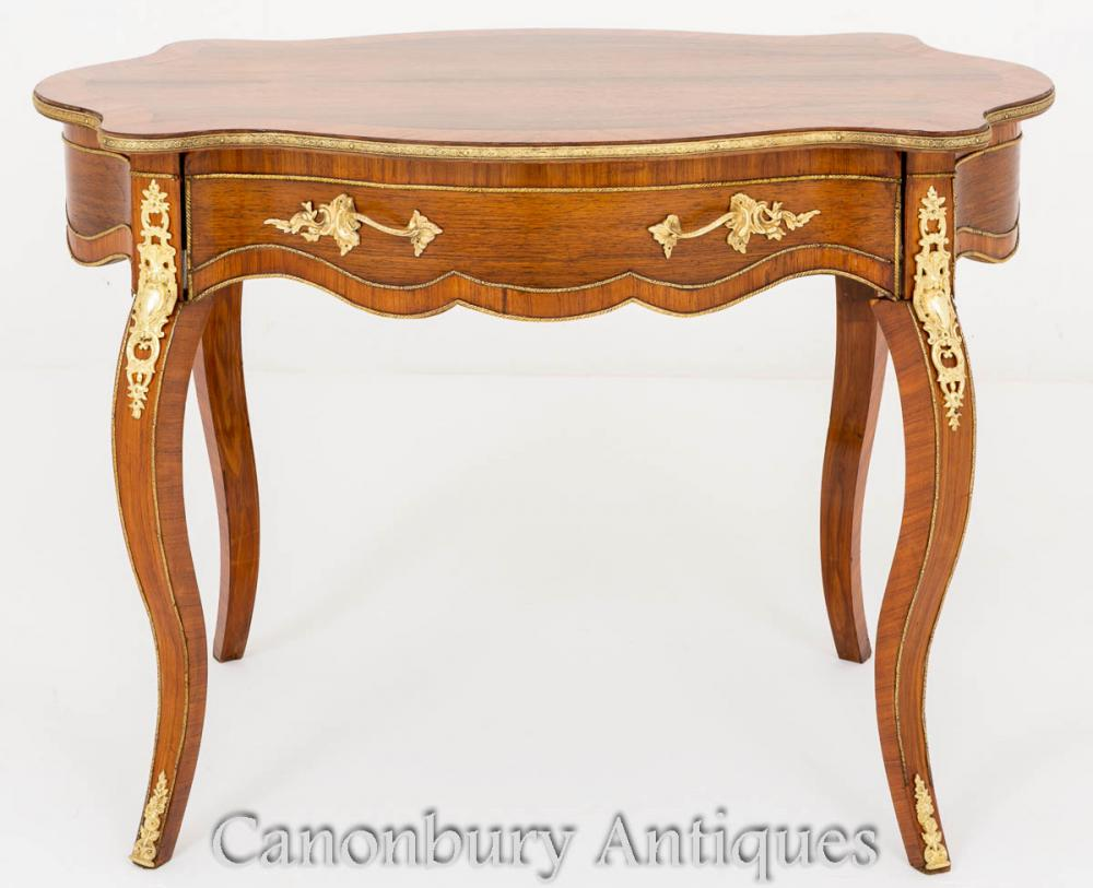 Table Centre Empire en Noyer 1860