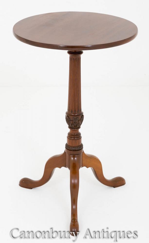 Victorian Tables d'appoint en acajou