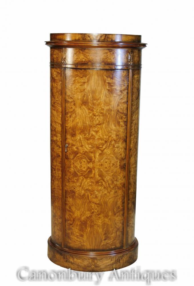 Armoire ovale Régence Grand garçon en bois de frêne