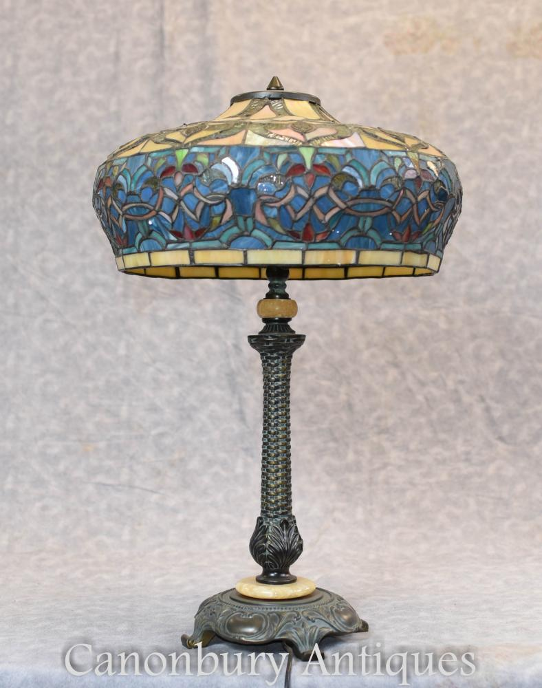 Lampe de table Art Nouveau Tiffany Shade Light