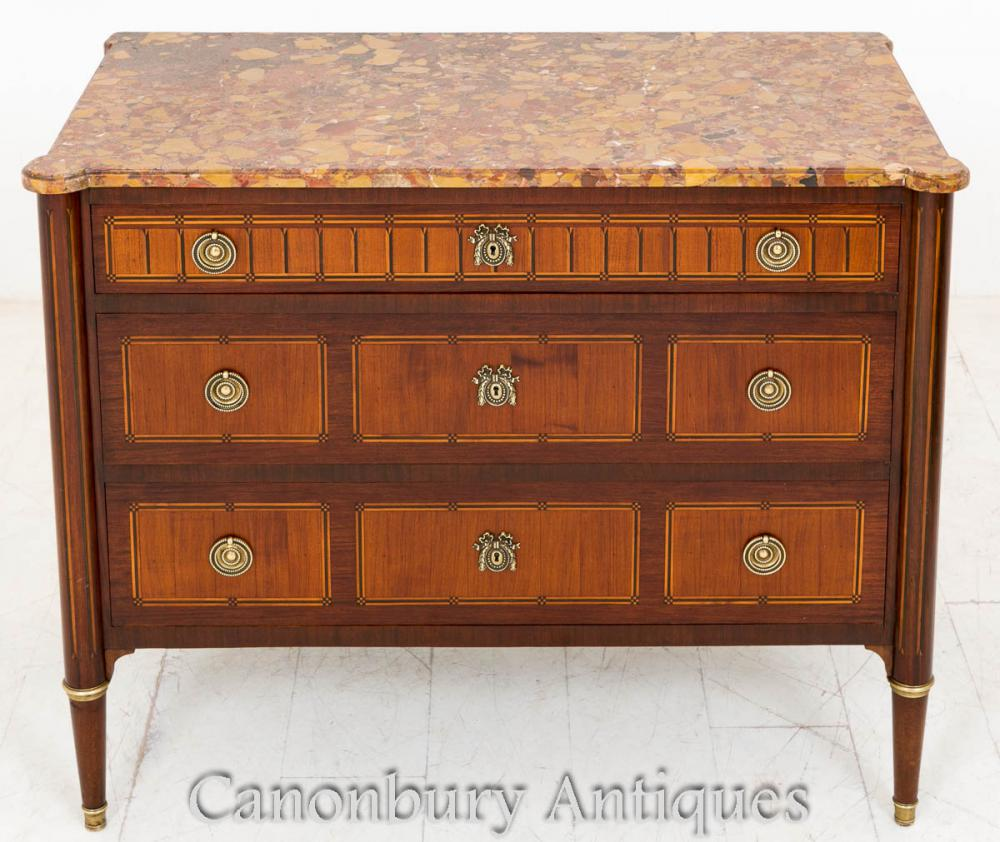 Commode Commode Acajou Empire Français
