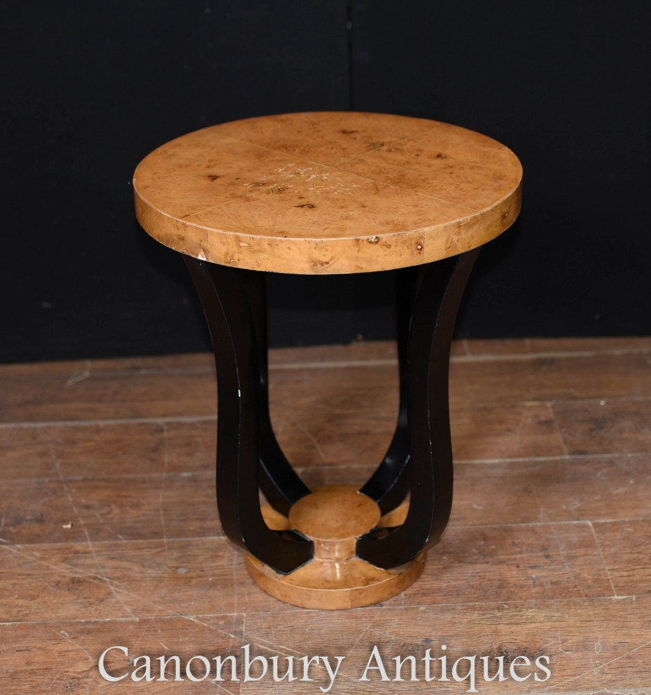 Table d'appoint déco - Tables d'appoint en noyer blond