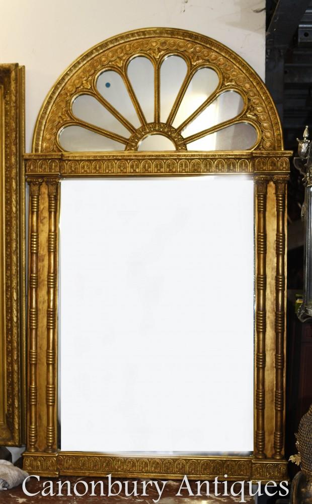 Miroir De Jetée Régence Doré Néo Classique