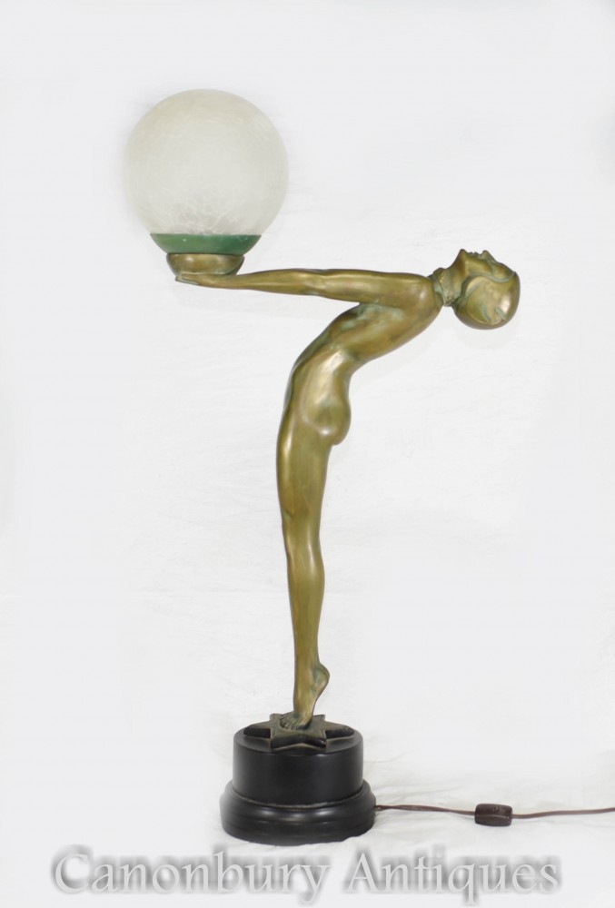 Lampe de table Deco Bronze - Figurine Biba