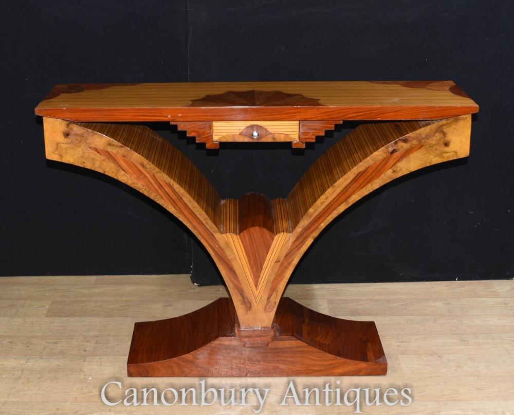 Console Deco - Intérieurs de tables de salle modernistes