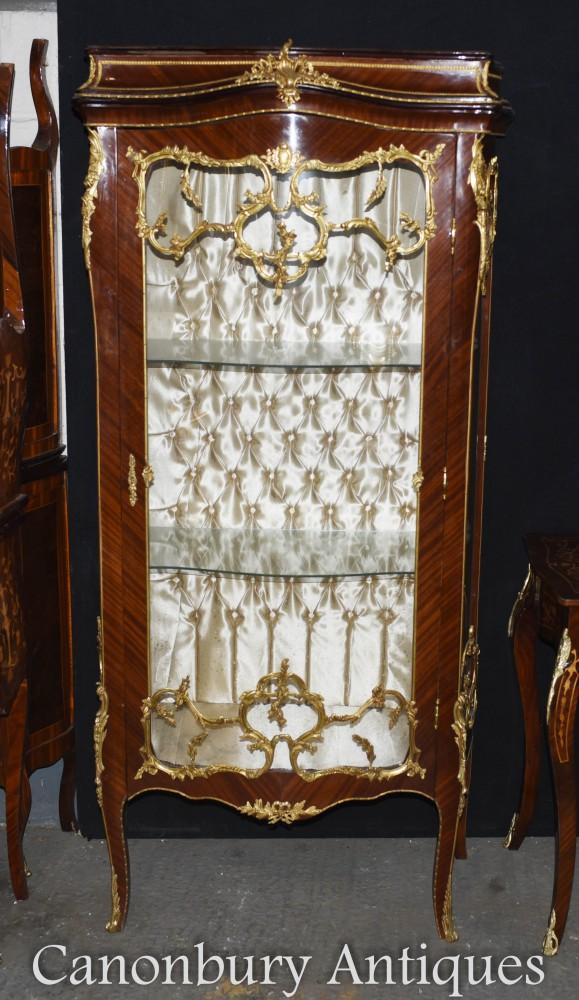 Vitrine Louis XVI - Vitrine Française Bijouterie